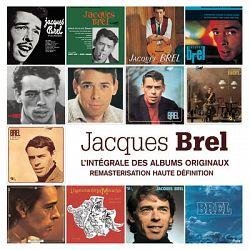 Jacques Brel - Intégrale des albums studio