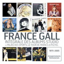 France Gall : Intégrale des albums studio + 3 concerts