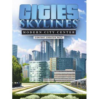 Cities Skylines Modern City Center