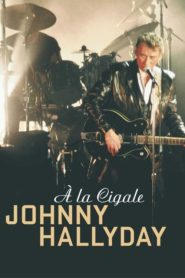 Johnny Hallyday à la Cigale