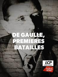 De Gaulle premiéres batailles