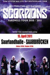 Scorpions – Live au Saarlandhalle Saarbrucken