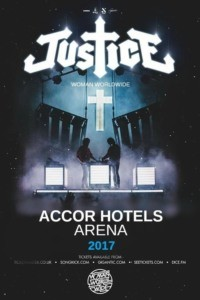 Justice – Woman Worldwide à l'AccorHotels Arena