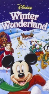 Mickey Noël sous la neige