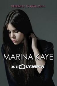 Marina Kaye à l'Olympia de Paris
