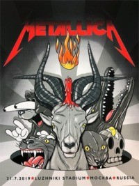 Metallica : Live in Moscow 2019