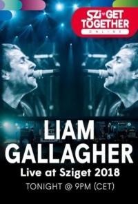 Liam Gallagher au Sziget Festival