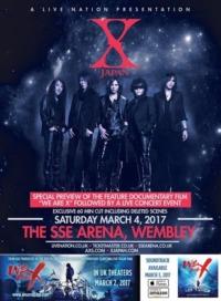 X Japan Live 2017 at the Wembley Arena