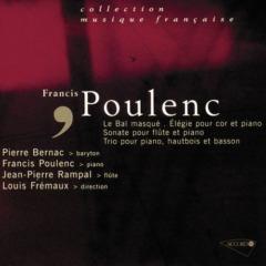 Maurice Allard - Poulenc - Un bal masqué-Sonate pour flute-Elegie pour cor-Trio pour piano hautbois et basson