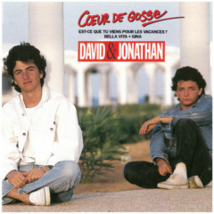 David et Jonathan - Coeur de gosse