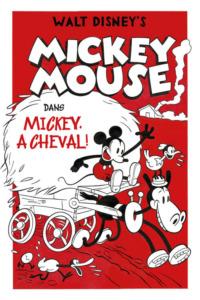 Mickey À Cheval !